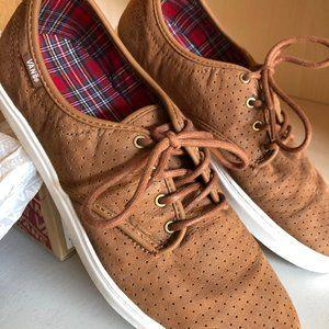 Men's Vans Ludlow Brown/White Lace-Up Shoes